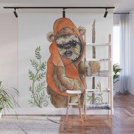 Feisty Bear-creature Wall Mural