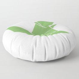 Squirrel origami Floor Pillow