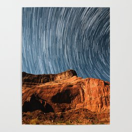 Stars on the Cliffside Poster