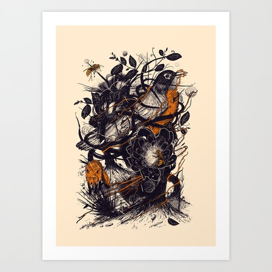 Natural Mystic Art Print