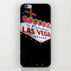 welcome to Las Vegas iPhone & iPod Skin