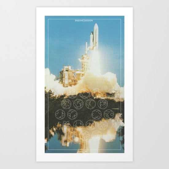 Engine | Design II Art Print
