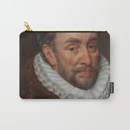 Old Oil Portrait of Prince of Orange, 1579. Carry-All Pouch