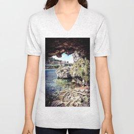 The Grotto Unisex V-Neck