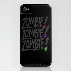ZOMBIE ZOMBIE ZOMBIE iPhone (4, 4s) Slim Case