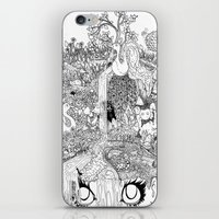 oasis iPhone & iPod Skins featuring Oasis by KadetKat