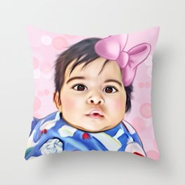 Commision  Throw Pillow