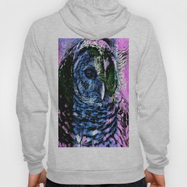 Rainbow Barred Owl Hoody