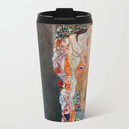 Death and Life by Gustav Klimt Travel Mug