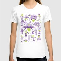 aliens T-shirts featuring Wow! Aliens!  by Josh Ln