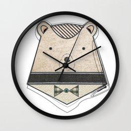 Bear with me  Wall Clock