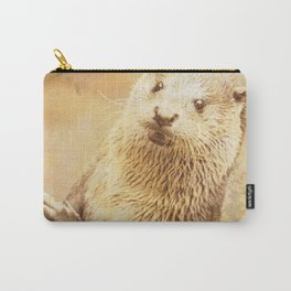 Vintage Animals - Otter Carry-All Pouch