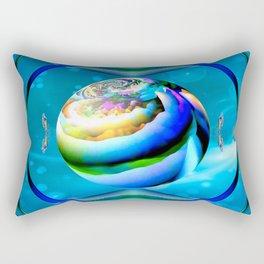 Butterfly Planet Rectangular Pillow