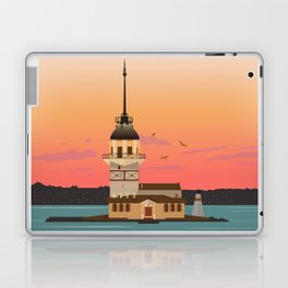 Istanbul Illustration Laptop & iPad Skin