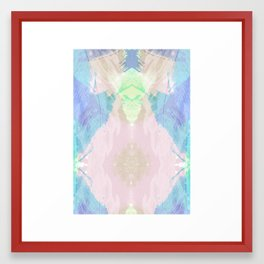 Wishy Washy Blues Framed Art Print
