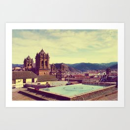 From Cusco with Love Art Print