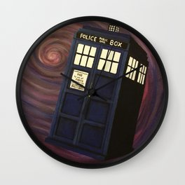 Doctor Who TARDIS Wall Clock