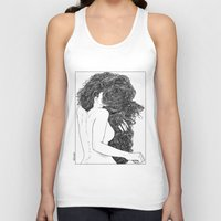 apollonia Tank Tops featuring asc 590 - Le peigne (Combing her hair) by From Apollonia with Love