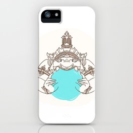 zulu iPhone Case