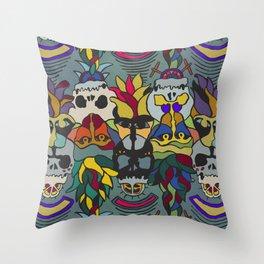 primateProtector.colour Throw Pillow