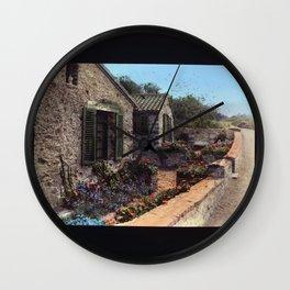 The Return of Summer Wall Clock