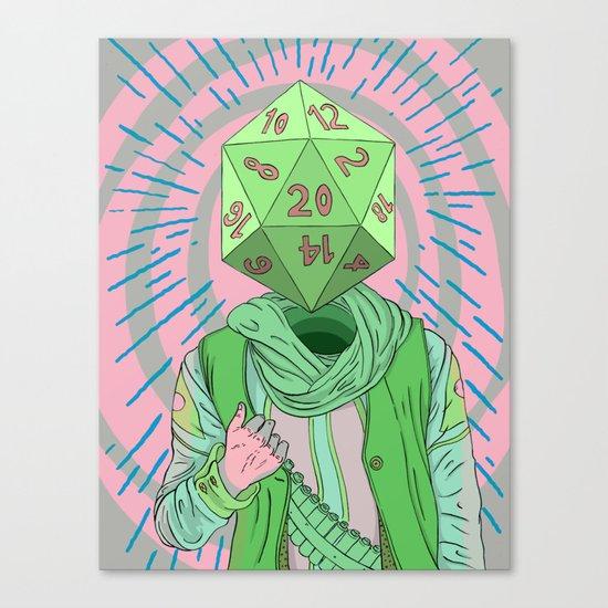 Fate Bringer Canvas Print