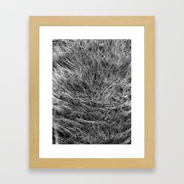 This is not Hair. Framed Art Print