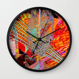 """""""I've Been Searching For a Way to Escape the Cold Light of Day"""" [A Simple Constraint Series] Wall Clock"""