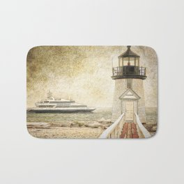 Brant Light Nantucket Bath Mat
