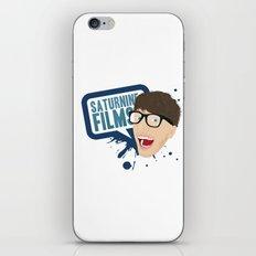 SaturnineFilms iPhone & iPod Skin
