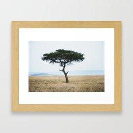 Sunsets in Africa par two Framed Art Print