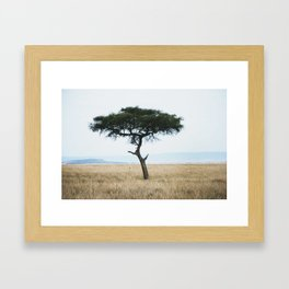 Sunsets in Africa par two Framed Art Print