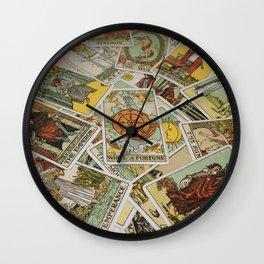 Tarot Cards Wall Clock