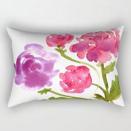 Floral No. 1 Rectangular Pillow