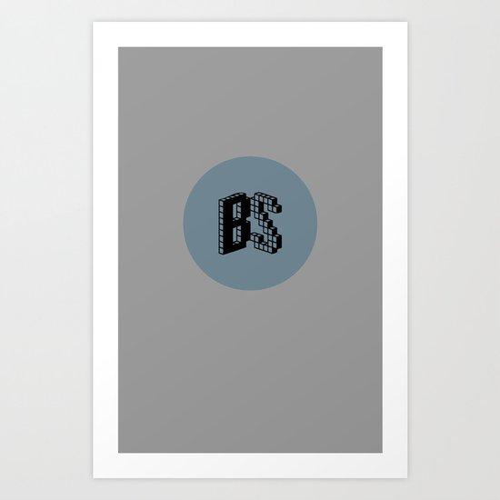 BS Logo Art Print