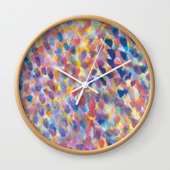 Mist Lilac Wall Clock