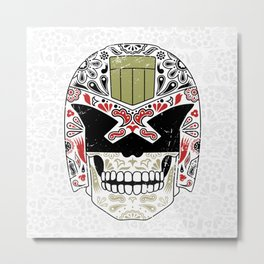 Day of the Dredd - Variant Metal Print