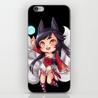 league of legends iPhone & iPod Skins featuring League of Legends | Ahri by Kalce