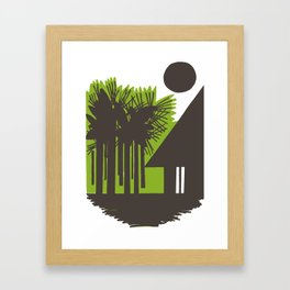 Choza Framed Art Print