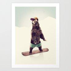 Board Art Print