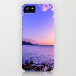 Saint Maxime Sunset iPhone Case