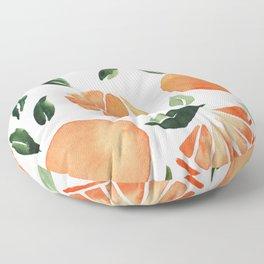 Summer oranges Floor Pillow