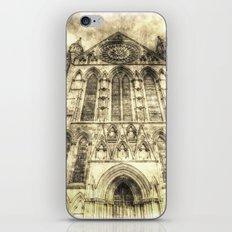 York Minster Cathedral Vintage iPhone & iPod Skin