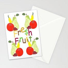 Kitchen Fresh Fruit Stationery Cards