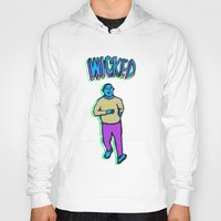 wicked Hoodies featuring Wicked by Marcelo Romero