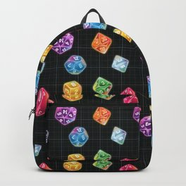 Dungeon Master Dice Backpack