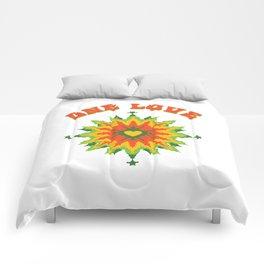 One Love fractal Comforters