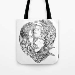Brenna Whit - Line Tote Bag