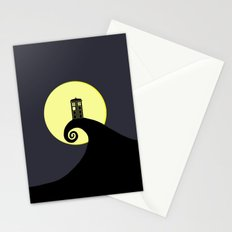 Tardis Nightmare Stationery Cards