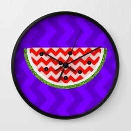 Pop Watermelon Wall Clock
